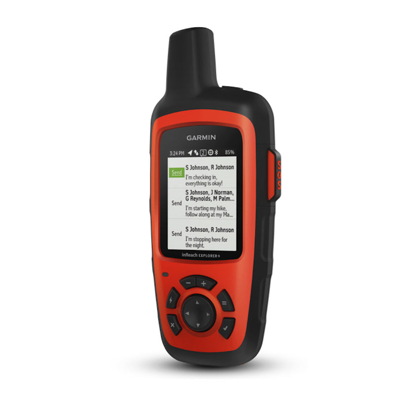 Garmin inReach Explorer+ Satellite Communicator Red and black color