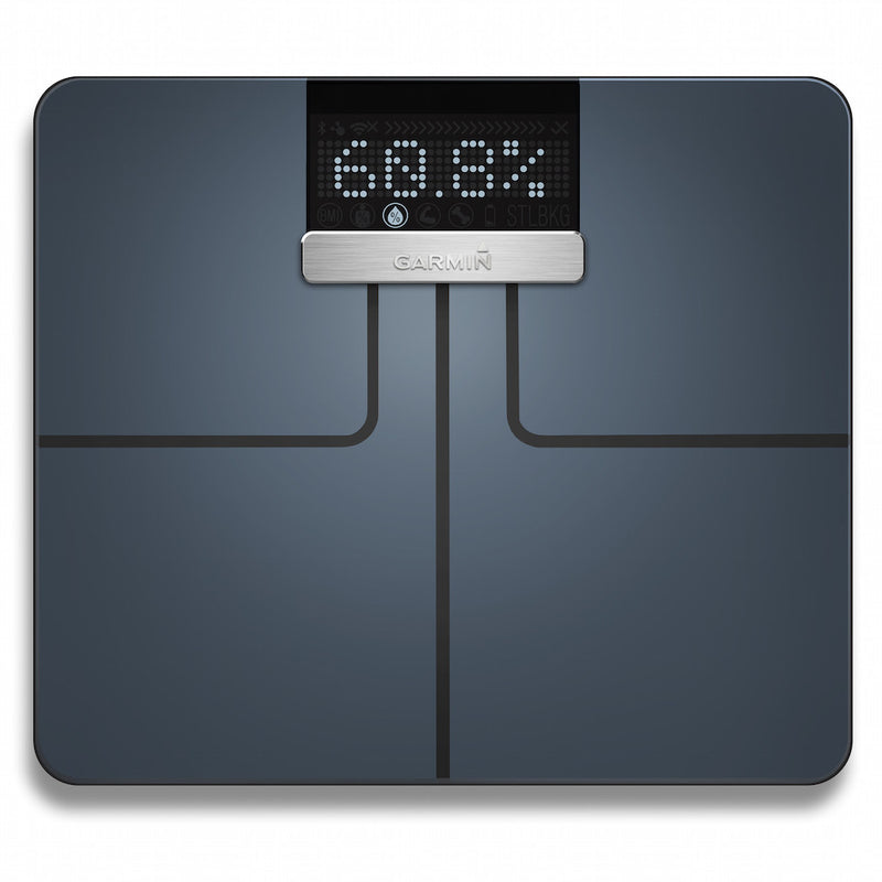 Garmin Index Smart Scale black color