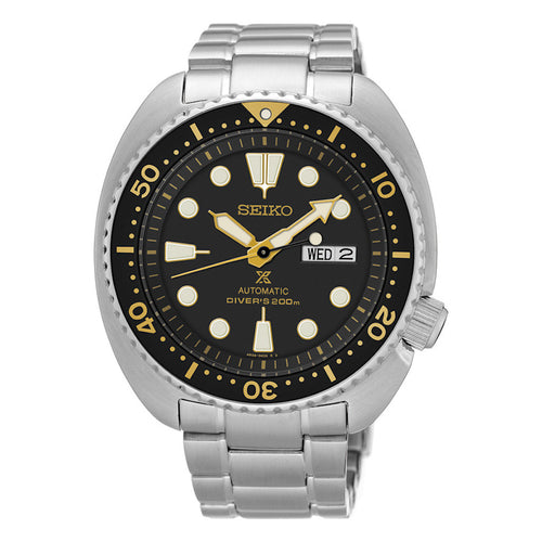 Seiko Prospex Automatic Diver Stainless Steel 45mm Day/Date Watch SRP775