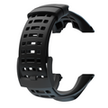 Suunto Ambit3 Peak Replacement Band black silicone