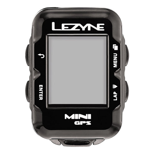 Lezyne Mini GPS Cycling Computer black color