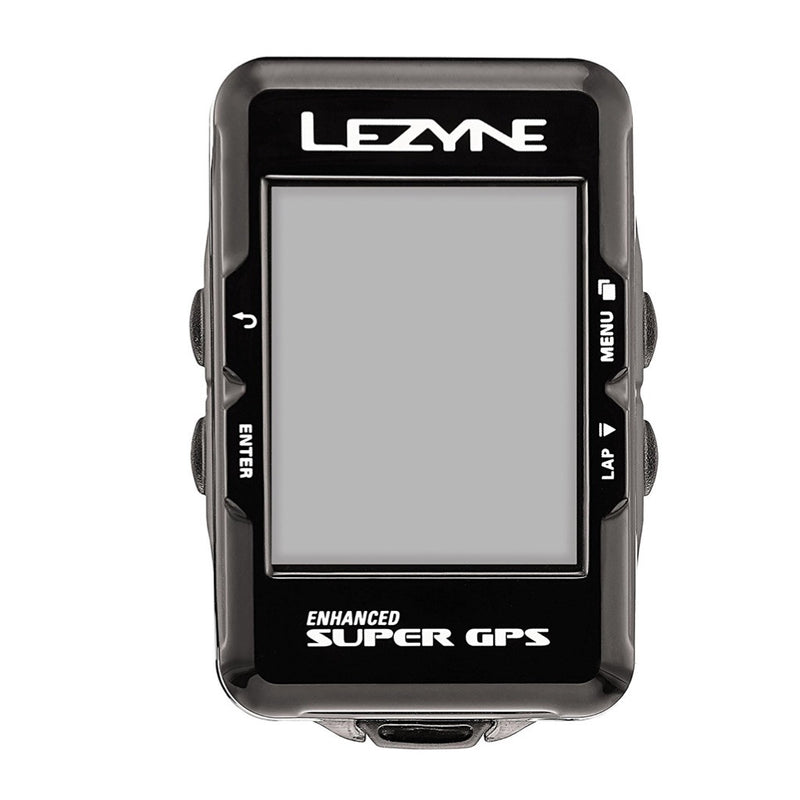 Lezyne Enhanced Super GPS Cycling Computer black color