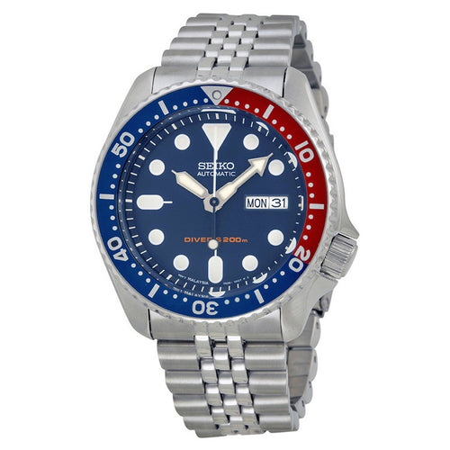 Seiko Core Men's Stainless Steel Automatic Dive Watch SKX175