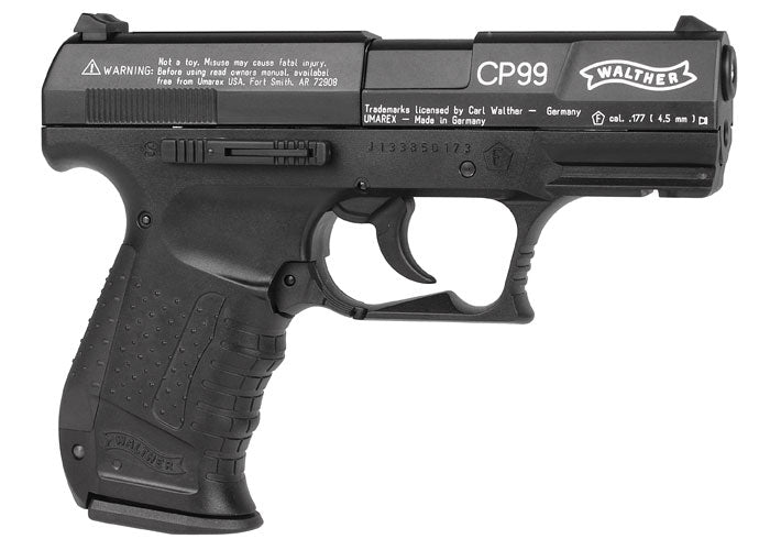 Walther CP99 .177 Caliber Pellet Gun Air Pistol, Walther CP99 Air Pistol with Wearable4U  Bundle