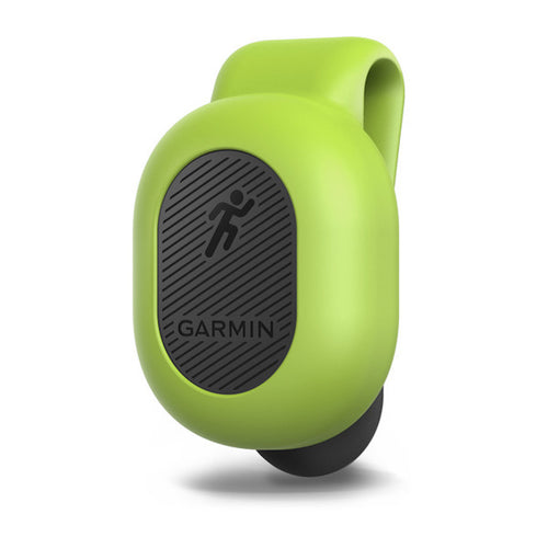 Garmin Running Dynamics Pod green and black color