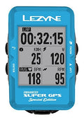 Lezyne Super GPS/Glonass Advanced Cycling Computer With Interactive Features
