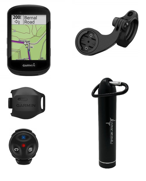 Garmin Edge 530 GPS Cycling Computer with Included Wearable4U Compact Power Bank Bundle