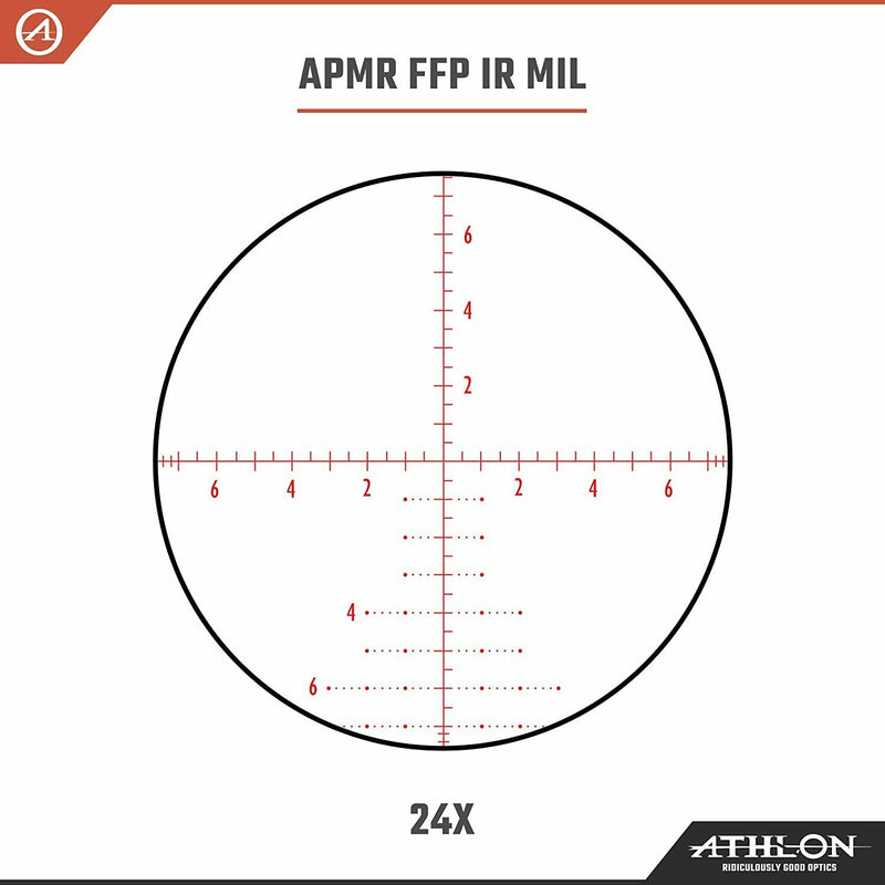 Athlon Optics Argos BTR GEN2 6-24X50 30mm FFP Riflescope