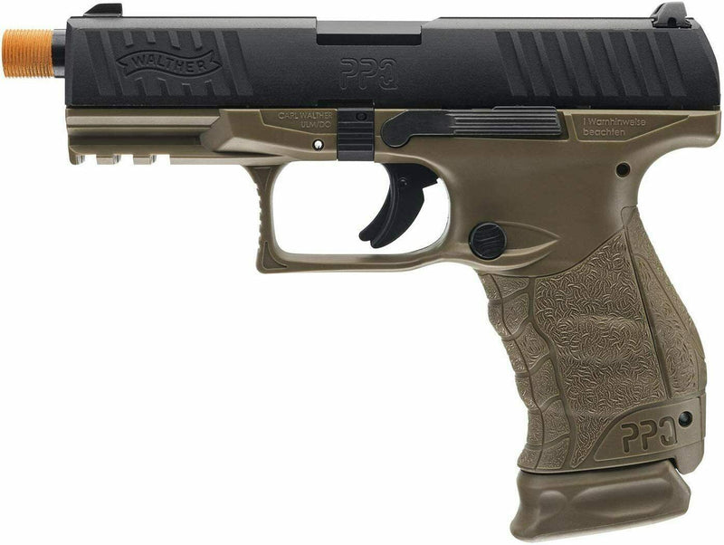 Elite Force Walther PPQ Gen3 GBB 6mm BB Dark Earth Brown Airsoft Gun