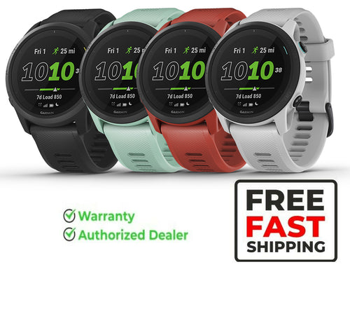 Garmin Forerunner 745, GPS Running Watch, Detailed Training Stats and On-Device Workouts, Essential Smartwatch Functions