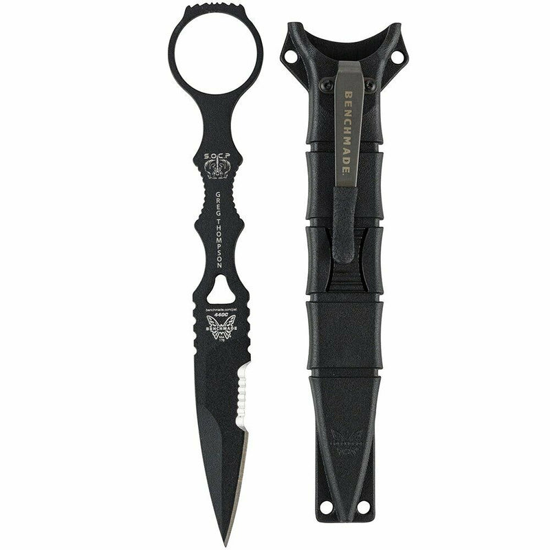 Benchmade SOCP SPEAR POINT, FB, SHEATH