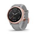 Garmin Fenix 6S Rose Gold-tone with Powder Gray Band GPS Watch with Wearable4U