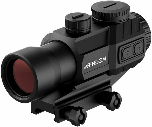Athlon Optics Midas TSP4 Capped Turrets Red Green Reticle Prism Scope