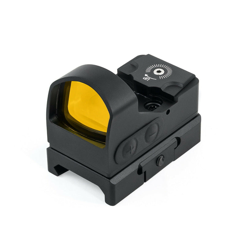 Athlon Optics Midas TSR1 50K Hour Battery Life Open Red Dot Sight
