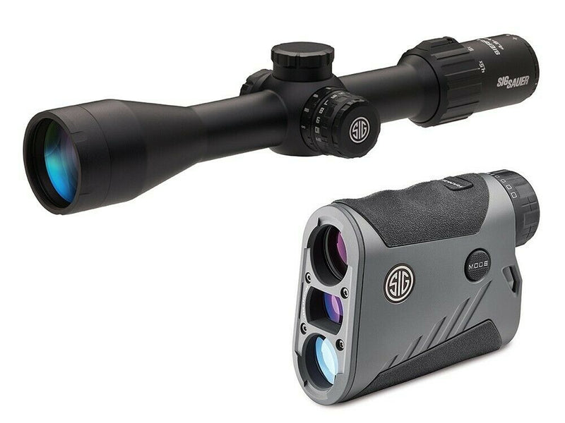 Sig Sauer BDX Kit Kilo1600BDX Laser Rangefinder and Sierra3BDX Scope 4.5-14X44