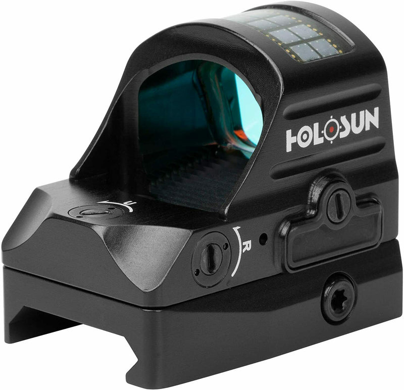 Holosun 2MOA Dot Only/Shake Awake HS407C-V2 Classic Red Dot Sight