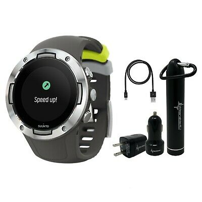 Suunto 5 Multisport Watch G1 with included Wearable4U Power Pack