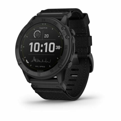 Garmin tactix Delta Solar Tactical GPS Watch with Nylon Band