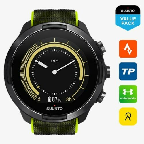 SUUNTO 9 Baro Lime GPS Multisport Watch