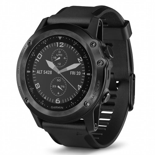 Garmin Tactix Bravo Sapphire Tactical GPS watch Black with silicone strap