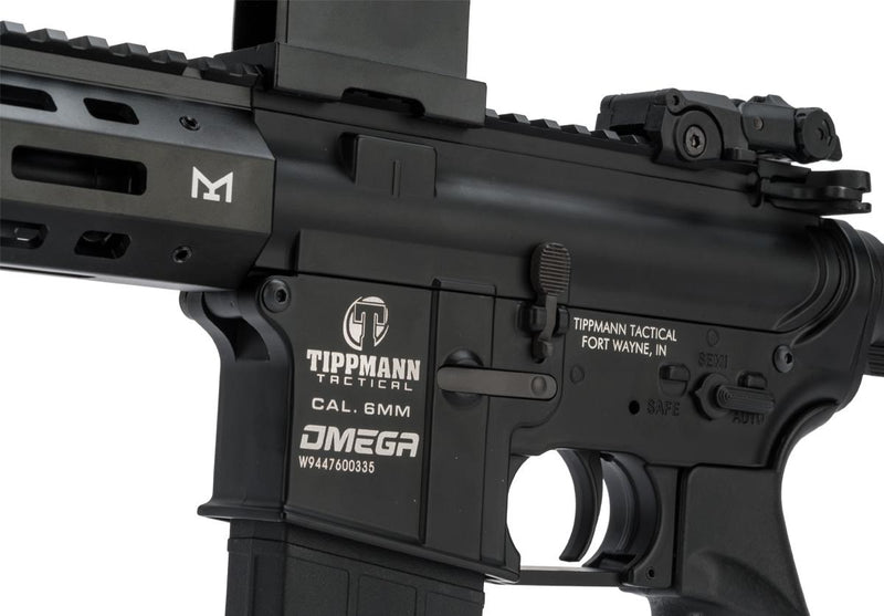 Tippmann Omega-PV CQB 12gram Model Marker Only E-matic,M-Lok Semi/Full BLK 94476