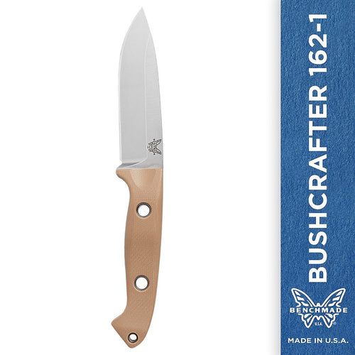 Benchmade - Bushcrafter 162-1 Knife, Drop-Point