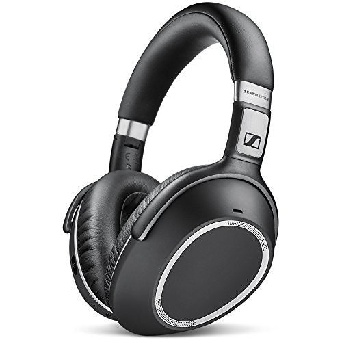 Sennheiser PXC 550 Wireless closed around ear headphone with adaptive noise cancelling, Bluetooth/NFC wireless pairing, and touch control