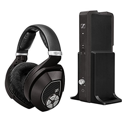 Sennheiser RS185 2.4gHz wireless headphone, open air, with balance control and auto/manual level adjustment