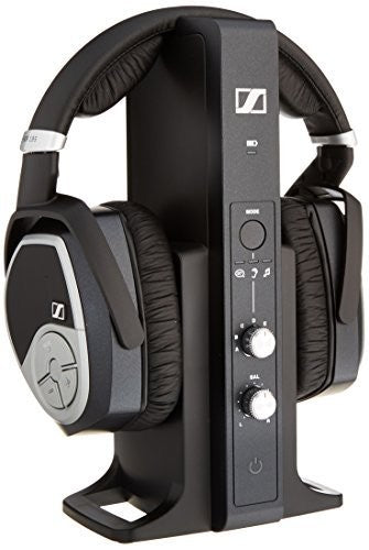 Sennheiser RS195 2.4gHz wireless headphone with personalized listening presets for assisted listening