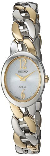 Seiko Women's Solar Two Tone With White Dial