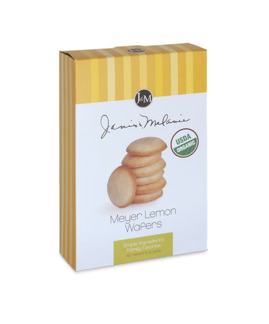 Organic Meyer Lemon Wafers