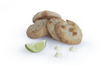 White Chocolate Key Lime Cookies