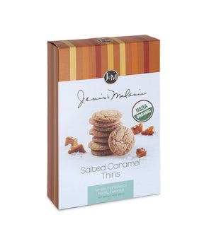 Organic Salted Caramel Thins