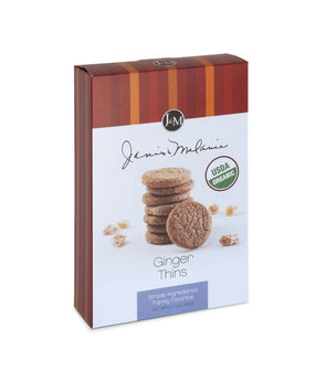 Organic Ginger Thins