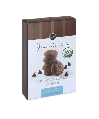 Organic Double Chocolate Wafers