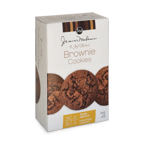 Soft Baked Brownie Cookies