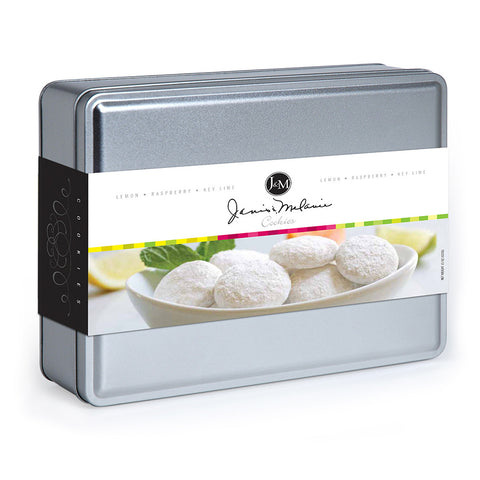 15 Oz- 3 Flavor Tea Cookie Tin