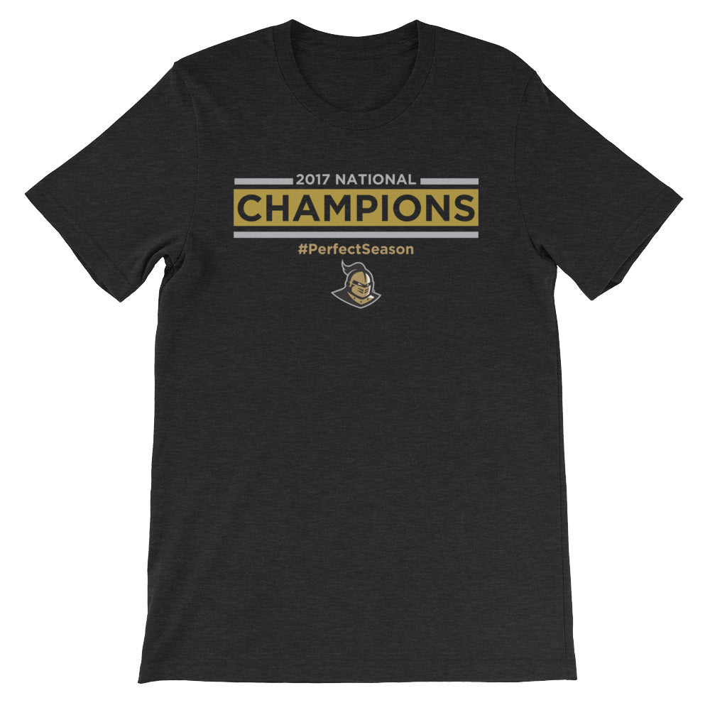 UCF 2017 National Champions S/S Tee