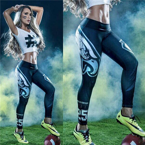 Philadelphia Eagles Printed Leggings