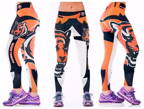 Cincinnati Bengals Printed Leggings