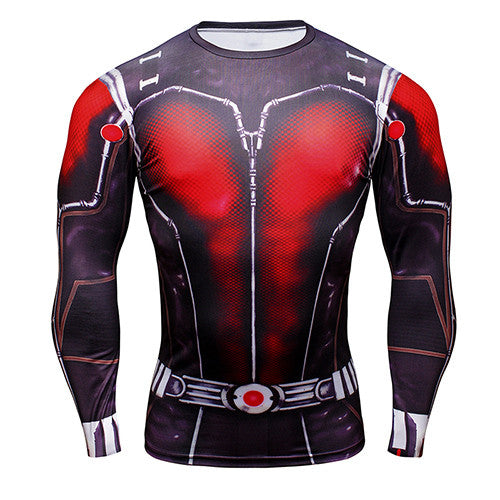 Ant-Man Long Sleeve Compression Shirt