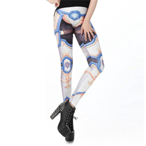 WoW Alliance Banner Printed Leggings