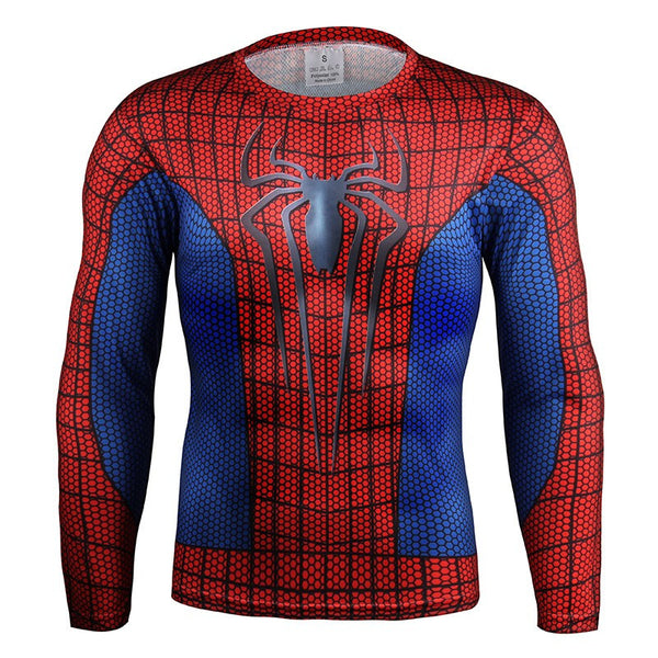 Webslinger Long Sleeve Compression Shirt