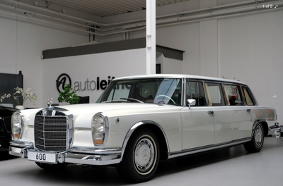 RARE 1975 MERCEDES-BENZ PULLMAN AVAILABLE FOR $2.3 MILLION USD