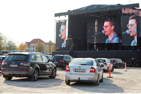 DRIVE-IN CONCERTS COULD BE THE FUTURE OF LIVE MUSIC