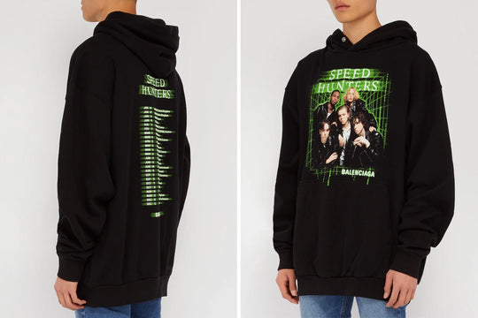 BALENCIAGA'S UPDATED SPEED HUNTERS HOODIE HIGHLIGHTS '90S NOSTALGIA