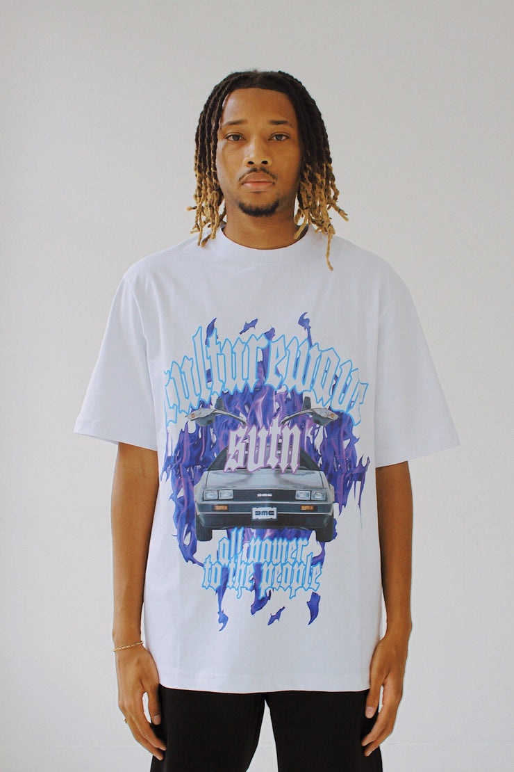 Culturewave Back To The Future White T-Shirt