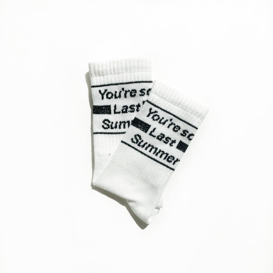 Your so last summer socks