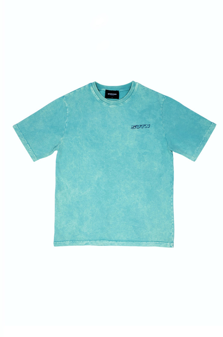 Svtn Aqua Acidwash T-Shirt