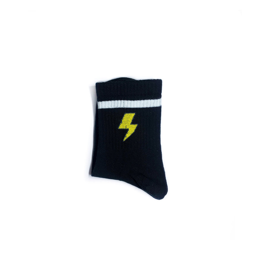 Thunder black socks